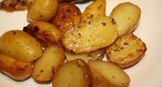 Greek Style Oven Roasted Lemon Butter Parmesan Potatoes