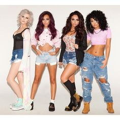 Little Mix rip it up ❤ liked on Polyvore