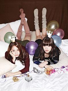 Krystal & Sulli 크리스탈 & 설리 - f(x),설리 (Sulli),f(x),kpop,k-pop,케이팝,화보,magazine