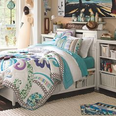Beadboard Storage Bed + Medium Tower Set, Queen, White, $2,495 + $150 delivery surcharge
