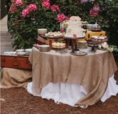 Vintage Rustic Party Inspiration