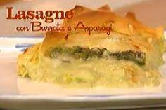 Ricetta Lasagne con burrata e asparagi - I menù di Benedetta