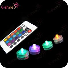 2014 Hotsale Remote Controlled Rgb Submersible Led Light