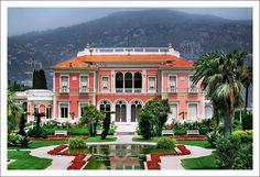 Villa Ephrussi de Rothschild, Saint-Jean-Cap-Ferrat. #Belvedere #Quarante #Herault #Languedoc