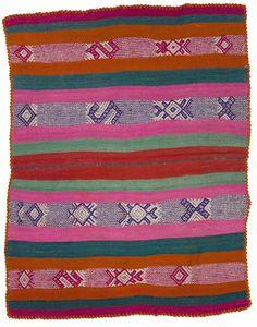Peruvian Frazada