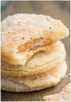 Easy Churro Cookies Recipe With Caramel