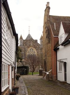 Rye, St Mary's Church, East Sussex, England, by B Lowe