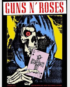 Maxfield LA Guns N' Roses Pop Up Shop Store Celebrating the anniversary of Appetite for Destruction Guns N Roses, Tour Posters, Band Posters, Music Posters, Rose Music, Velvet Revolver, Appetite For Destruction, Metal Albums, Rockn Roll