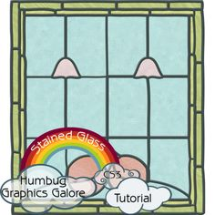 This tutorial will show you how to make different types of stained glass and then use those patterns to create your own stained glass window.