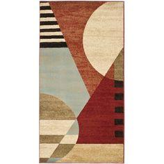 I'm learning all about Safavieh Art Deco Vincent Polypropylene Rug, Multi-Color at @Influenster!