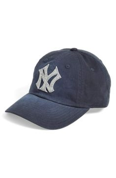 Men's American Needle 'New York Yankees - Luther' Baseball Cap - Blue