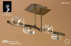 Alfa is a stylish contemporary lighting collection from Mantra Lighting The Alfa Semi Ceiling Light has an antique [… Ceiling Lamp, Ceiling Lights, Mantra, Chandelier, Contemporary, Lighting, Stylish, Antiques, Collection