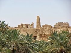 The Temple of the Oracle (Temple of Amun) at the Siwa Oasis in Egypt. by Mykola Rykov