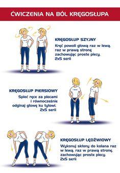 Ćwiczenia na ból kręgosłupa