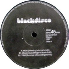 Various // Blackdisco Vol. 1