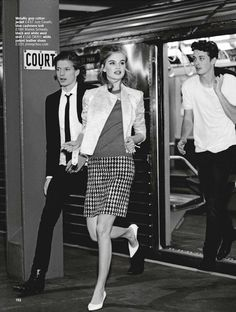 """""""Cool Days Like This""""Milou Sluis is Mod in New York City by Chris Craymer for Glamour UK January 2013"""