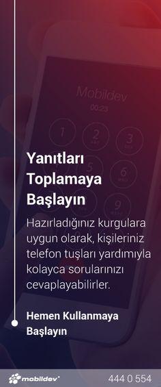 IVR (Interactive Voice Response) ile kişilerinizin, hazırladığınız kurgulara, telefon tuşlarını kullanarak kolayca katılım sağlayabileceği sesli mesajlar oluşturun. http://b.x34.me/df5K4