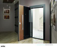 """*Model """"Anka"""" *Steel Security Door, *Entrance Door"""