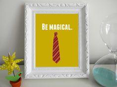 Harry Potter Magical Print