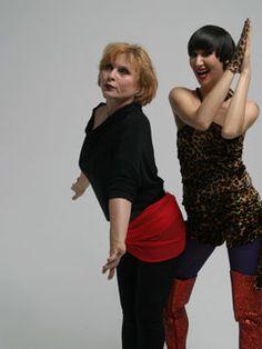 Debbie Harry and Karen O