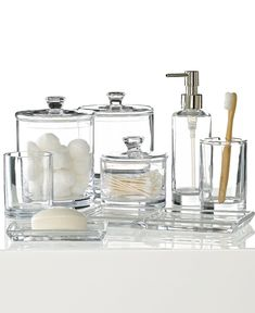 glass bathroom accessories sets. Clear Sea Glass Bathroom Accessories with Transparent Look  soap And Lotion Dispenser Set Sets Gallery Latest Posts Under sets ideas Pinterest Navy blue