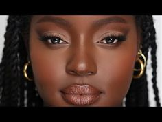 (14) MATTE EYES AND GLOWY SKIN TUTORIAL | Hindash - YouTube Make You Up, I Can Do It, Glowy Makeup, Glowy Skin, Looking Gorgeous, Beautiful, Makeup Videos, Makeup Inspo, Makeup Looks