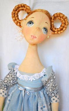 Куклы с душой от Татьяны Пущиной: Барышня