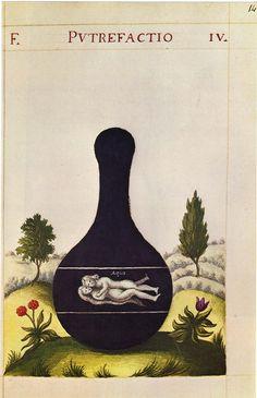 Putrefactio, Alchemy, nigredo