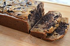 Chocolate Marbled Banana Bread | fastPaleo Primal and Paleo Diet Recipes