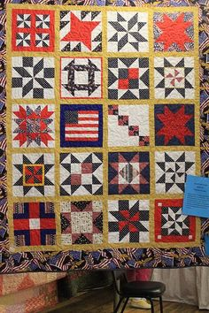 Quilts Of Valor Free Patterns | Quilt of Valor - A PATTERN OF GIVING. It is also a sampler quilt in ...