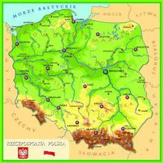 Miasta wojewódzkie: interaktywna mapa Polski online