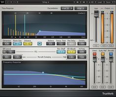 TrueVerb Plug-in from Waves #audiounits #rtas #vst #ilok2