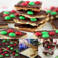 This sweet and salty Christmas Crack Toffee takes just 15 minutes to make and tastes great. This is a must make these Holidays and it couldn't be easier. We've included Christmas Bark and a video tutorial too.
