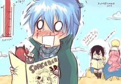 """It took me a while to figure out what ultear was saying but it's, """"tell Erza he loved her kitty costume."""" XD"""