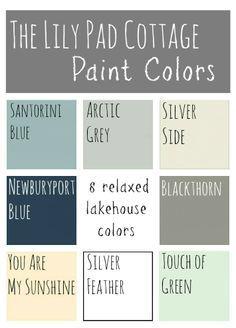 color palette cottage style - Google Search