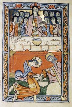 Psałterz, Anglia, XII w., fol. 11r; Bodleian Libraries (MS. Douce 293)