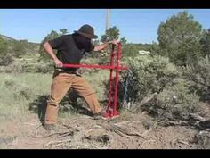 The Bullpull-Shrub Removal-Pulling Shrubbery-How to. Garden Tool Storage, Garden Tools, Tree Puller, Drill Bit Sharpening, Tractor Room, Welding Tips, Automatic Gate, Lawn Maintenance, Plant Information