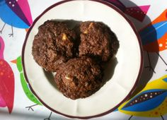 Zdravé Torty: Celozrnné čokoládové cookies
