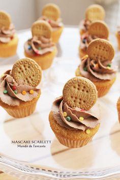 Cupcakes de galleta María: