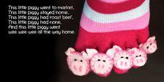 This Little Piggy Toe Socks