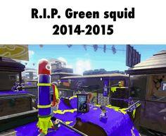 R.I.P. Green squid 2014-2015