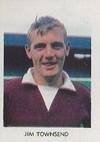Jim Townsend of Hearts in 1967.