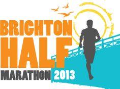 completed in 2 hours 39 mins first ever half marathon Brighton Half Marathon 2013