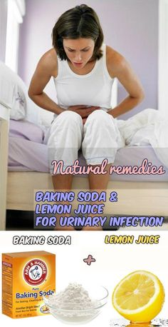 Natural remedies: baking soda and lemon juice for urinary infection - WomenIdeas.net