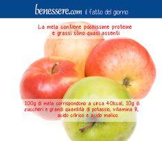 #mela #mele #sana #vitamine #benesserecom #frutta