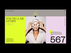 A+WQ / Young Lab Animation by Zhenya Rynzhuk for Sochnik on Dribbble Interaktives Design, Page Design, Layout Design, Creative Design, Sketch Design, Design Concepts, Flat Design, Website Design Inspiration, Graphic Design Inspiration