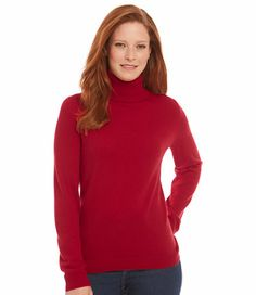 Classic Cashmere, T-Neck: Cashmere | Free Shipping at L.L.Bean