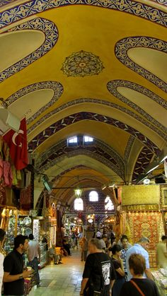Grande Bazaar, Istanbul, Turkey