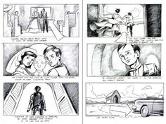 D Artwork Transformers Toy Commercial Storyboards  Tfw