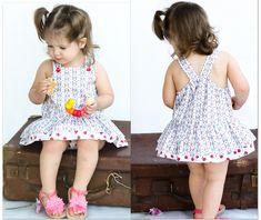 Tinkerbelle Romper http://www.felicitysewingpatterns.com/product/special-buy-sisters-pattern-bundle-lucy-lou-dress-tinkerbelle-romper-both-patterns-1250